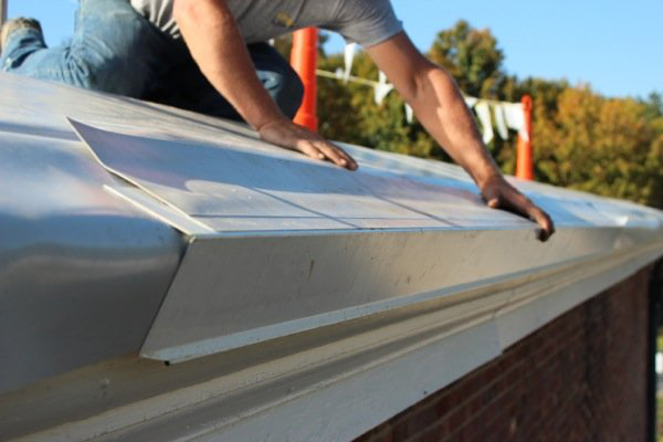 Commercial Gutter Lining